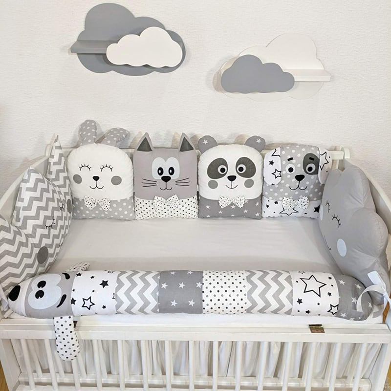 Бортик в кроватку новорожденному Колыбельная для Принца