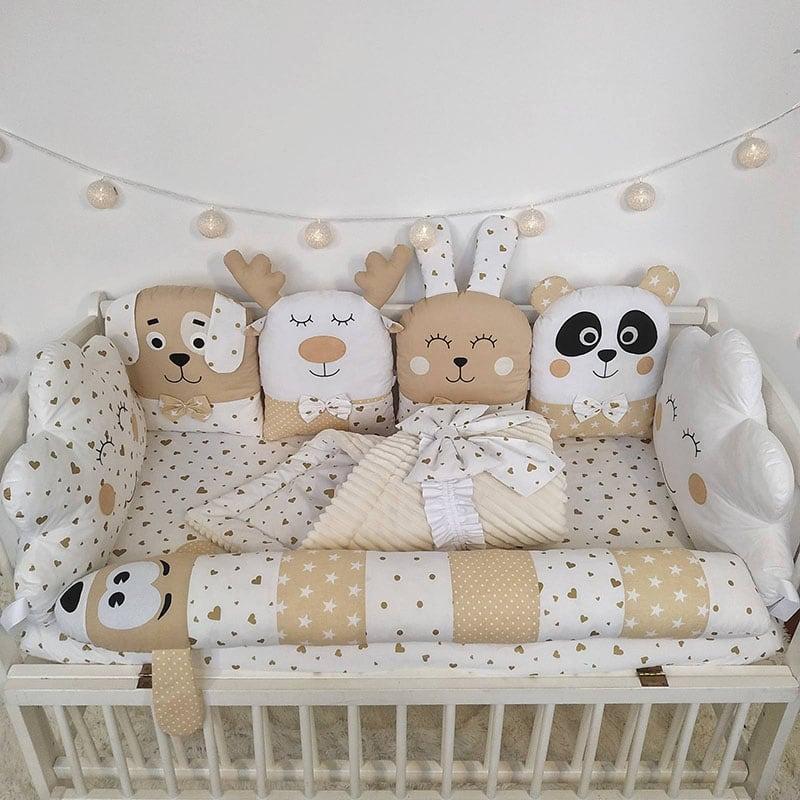 Бортик детский в кроватку I Love Toys