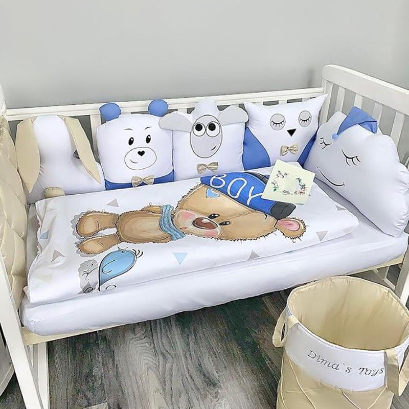Захисний бортик новонародженим Boy Bear