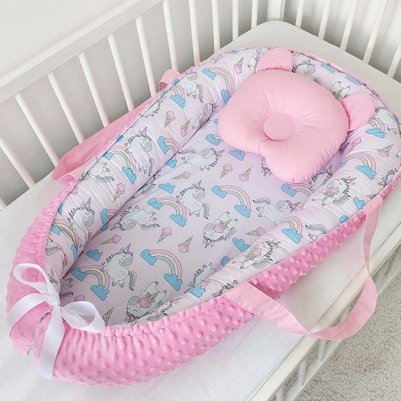 Кокон гніздечко для новонародженого райдужний єдиноріг