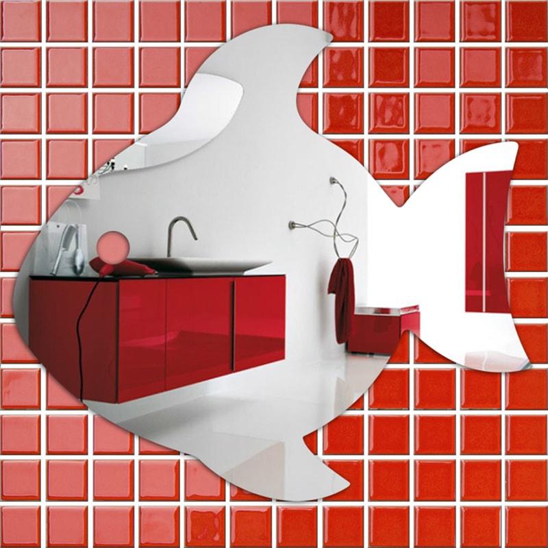 Купить зеркальные наклейки на стену в интернет магазине gift2u
