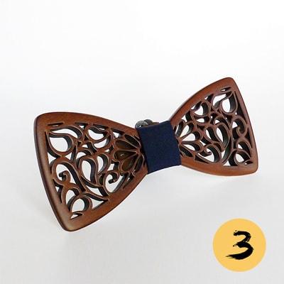 Галстук бабочка в подарок LAA Fashion Флора