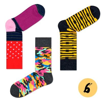 Подарочный набор носков для мужчин HAPPY SOCKS Imagination