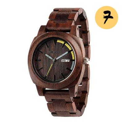 Унисекс часы в подарок WEWOOD Motus Chocolate