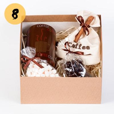 Подарочный новогодний кофейный набор Сourage