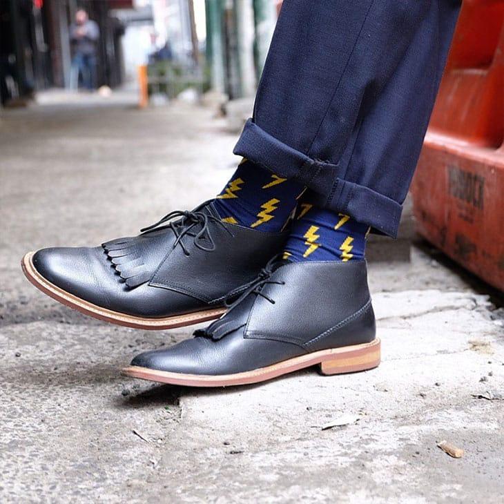 мужские носки с прикольным узором